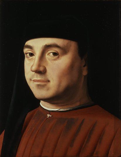 Antonello da Messina, Ritratto d'uomo, 1475 circa, Galleria Borghese, Roma
