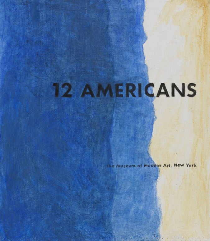 12 Americans, 2003, acrilico su tela, cm 40x45, Collection of the Museum of American Art, Berlin Courtesy P420, Bologna e Museum of American Art, Berlin