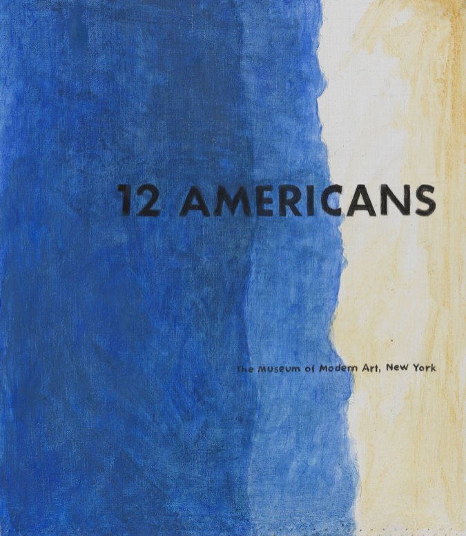 12 Americans, 2003, acrilico su tela, cm 40x45, Collection of the Museum of American Art, Berlin Courtesy P420, Bologna e Museum of American Art, Berlin