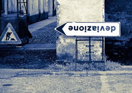"""Independents 4: """"Deviazione"""", Veronica Liotti e Stefano Franchini. Foto: Maria Grazia Montagnari"""
