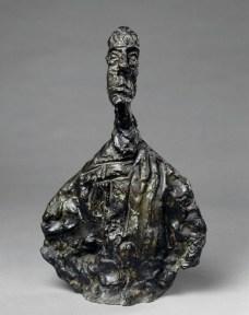 Alberto Giacometti, Diego, 1954, bronzo, 38.7x23.9x9.5 cm (AM 1161 S) © Centre Pompidou, MNAM-CCI / Adam Rzepka / Dist. RMN-GP