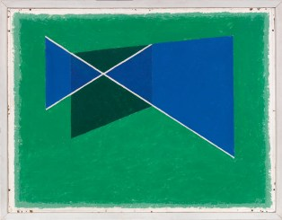 Josef Albers, Slanting Cross, 1938 © 2013 The Josef and Anni Albers Foundation / Artists Rights Society New York
