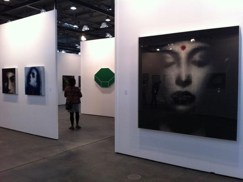 veduta dello stand di Bonioni Arte, Reggio Emilia - ArtVerona 2013