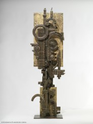 Piero Cattaneo, Ricercare opera 12, 1968, bronzo unico, cm 83x23x21Foto Maurizio Grisa