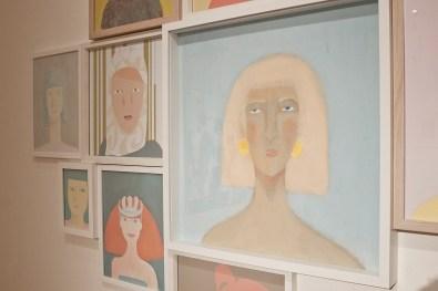 Ottanta. An international perspective. A local insight, veduta della mostra, Bipielle Arte, Lodi Foto Mattia Arioli