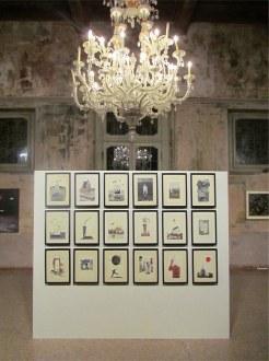 Isabella Mara, Pass Home, 2010-2013, disegno e collage Courtesy dell'artista