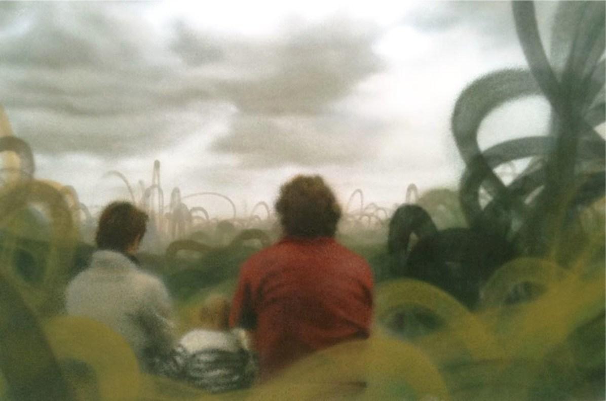 Eron, Senza titolo, 2010, pittura a spray su tela, cm 100x150 Courtesy collezione privata