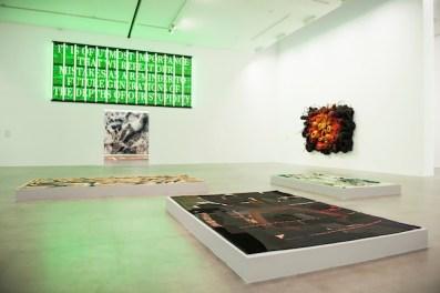 Veduta della mostra Soft Pictures, Fondazione Sandretto Re Rebaudengo, Torino.Foto: Giorgio Perottino