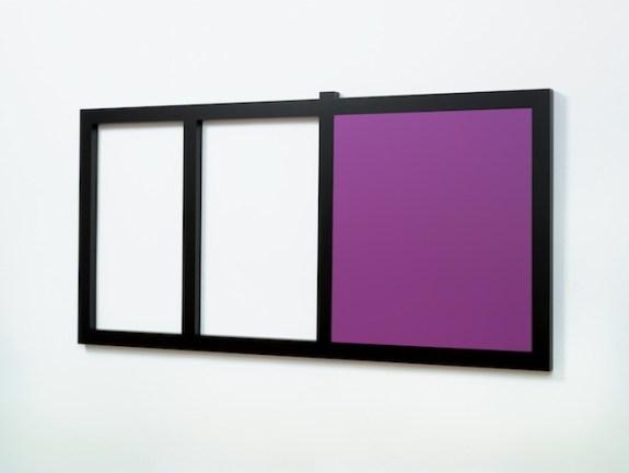 Gerwald Rockenschaub, Untitled, 2011, MDF Lack, Courtesy Sammlung Goetz