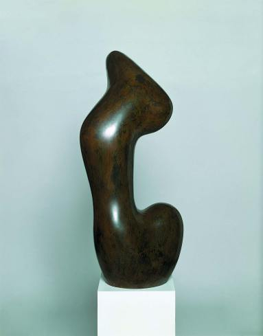 Jean Arp, Hurlou, 1957, bronzo, 98x45x47 cm