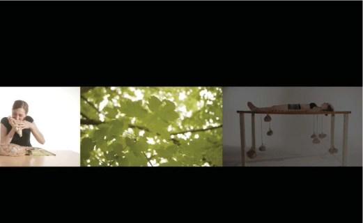 Lissy Pernthaler, Dark Diary - Mein dunkles Tagebuch, 2012, a video performance, 19.20. Courtesy La Giarina Arte Contemporanea, Verona