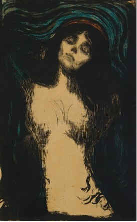 Edvard Munch, Madonna 1895 – 1902 litografia Collezione privata © The Munch Museum : The Munch-Ellingsen Group by SIAE 2013