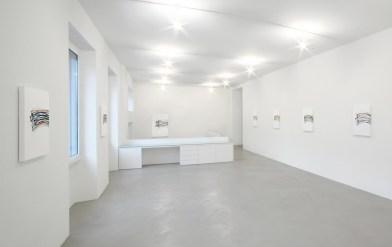 Nelio Sonego, veduta parziale dell'esposizione, 2013, A arte Invernizzi, Milano Courtesy A arte Studio Invernizzi, Milano Foto Bruno Bani, Milano