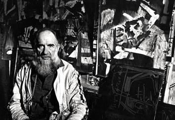Emilio Vedova, 1980 Foto Paolo Gasparini