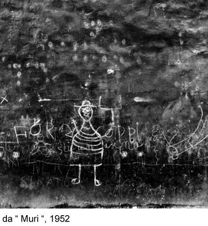 """Nino Migliori, da """"Muri"""", 1952"""