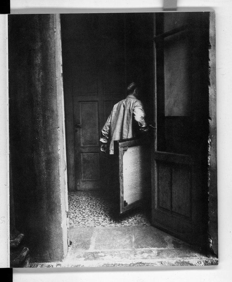 Lucio Fontana Foto Studio Wolleh, Düsseldorf