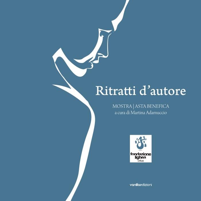 Copertina del catalogo Ritratti d'autore, vanillaedizioni, 2013