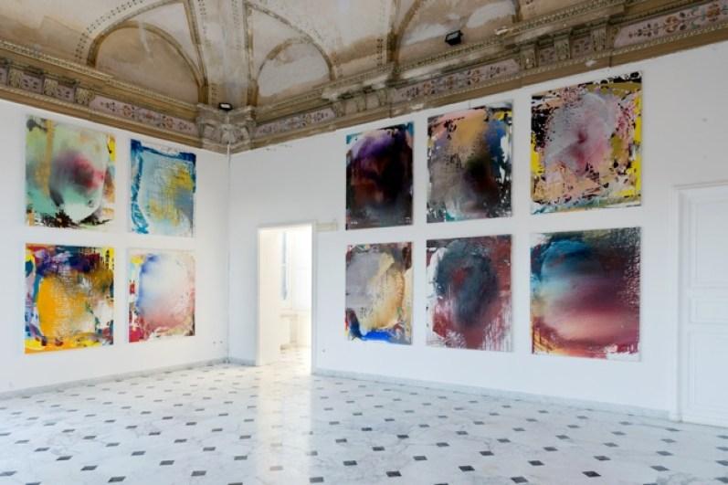Jackie Saccoccio, Portrait Gallery, installation view, Villa Croce, Genova ph. Nuvola Ravera