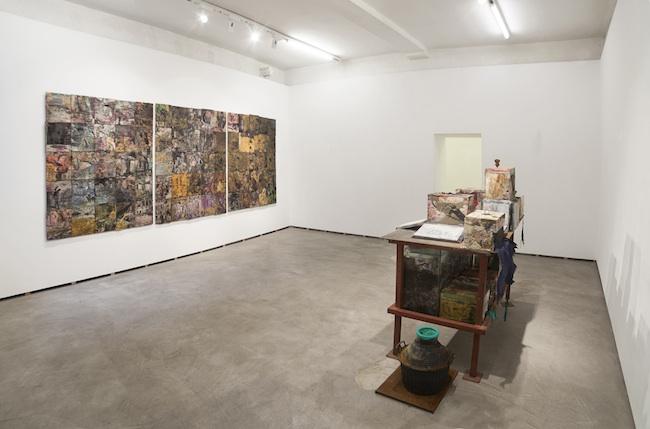 Gabriele Silli Esercizi di accanimento ottativo-digitali, 2014 installation view photo by Federico Maria Tribbioli courtesy Federica Schiavo Gallery, Ro