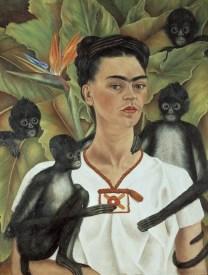rida Kahlo Autoritratto con scimmie, 1943 Olio su tela, cm 81,5 x 63 The Jacques and Natasha Gelman Collection of 20th Century Mexican Art and The Vergel Foundation, Cuernavaca © Banco de México Diego Rivera & Frida Kahlo Museums Trust, México D.F. by SIAE 2014on scimmie