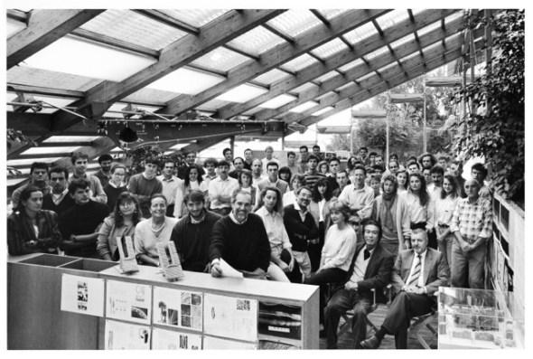 G. Berengo Gardin, Renzo Piano e il suo studio, Genova, 1991 © 2014 Gianni Berengo Gardin/Contrasto