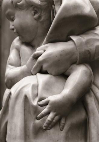 Nicolò Cipriani (Ravenna 1892 - Firenze 1968), Madonna col Bambino o Madonna di Bruges, 1953, stampa fine art su carta cotone da negativo originale (2014), Firenze, Soprintendenza SPSAE e per il Polo Museale della città di Firenze