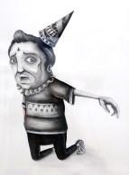 seaCreative, Sogno del Circo, 2013, colori acrilici su carta cotone 64,5x47 cm
