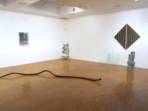 Panoramica della mostra Protocombo,Museo d'Arte Contemporanea, Lissone (MB)