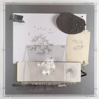 Loris Cecchini, The size plus the size of the sample, 2013, tecnica mista, 60×60x8 cm Foto di Carole Parodi Courtesy Studio Loris Cecchini