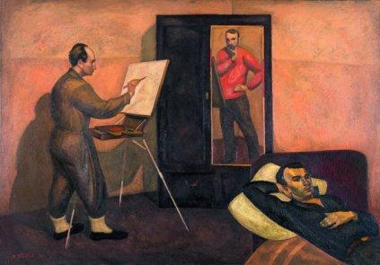 Viktor Popkov, Tre artisti, 1962-63