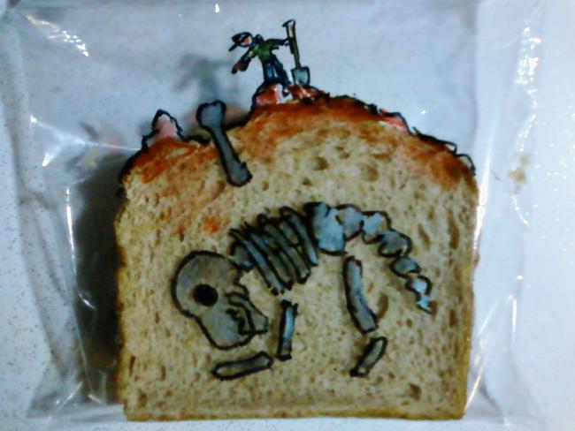 David Laferriere, sandwich bag