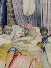 Arazzi con Storie di Giuseppe Ebreo per Cosimo I de' Medici, disegno e cartone di Agnolo Bronzino, 1549-1553, particolare