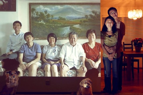 "JOHN CLANG, Goh family (Bellevue, Bedok), 2011 Series ""Being Together"" C-Print © John Clang"