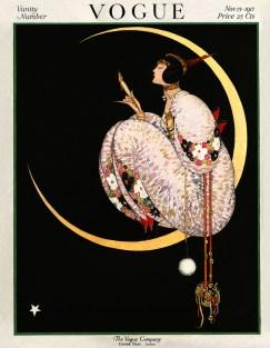 Copertina di Vogue US del 15 novembre 1917 - illustrazione di George Wolfe Plank, Vogue © Condé Nast