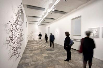 Loris Cecchini. Modulo e modello, Fondazione Arnaldo Pomodoro, Milano Foto Carlos Tettamanzi