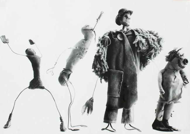 Ugo Mulas, Alexander Calder, Circus, 1963 Fotografia di Ugo Mulas © Eredi Ugo Mulas. Tutti i diritti riservati. © 2014 Calder Foundation, New York / Artists Rights Society (ARS), New York / SIAE, Rome - Courtesy Archivio Ugo Mulas - Galleria Lia Rumma Milano/Napoli