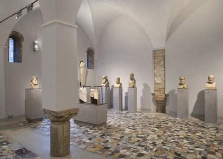 Sala delle Erme Museo Nazionale Ravenna