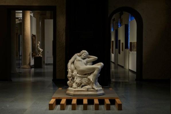 Nuova GALLERIA D'ARTE MODERNA ACHILLE FORTI a PALAZZO DELLA RAGIONE, Verona, veduta degli allestimenti, ph. Lorenzo Ceretta