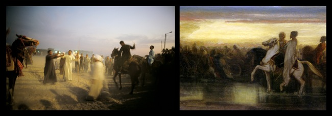 Nan Goldin, The Horse Races Egitto, 2010 © Courtesy dell'artista