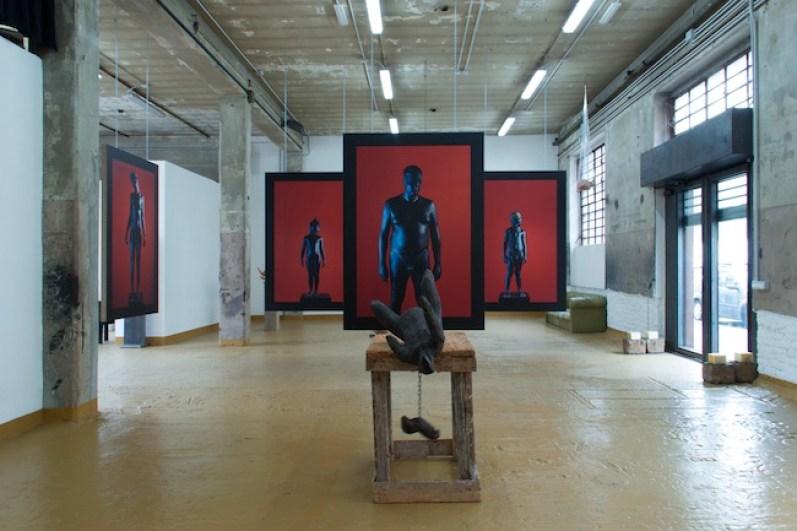 Christian Zucconi, Leviathan, GALLERIA BIANCA MARIA RIZZI & MATTHIAS RITTER, veduta della mostra, 2014, Milano