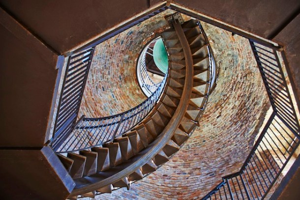 Torre dei Lamberti, scala interna, Palazzo della Ragione, Verona, FOTO: Lorenzo Ceretta