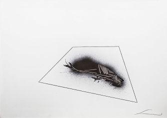 Emilio Scanavino, Senza titolo, 1969, acrilico e matita su cartoncino, 70x100 cm Foto Jurgen Becker