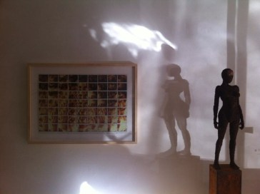 Intrecci. Maurizio Galimberti e Fabrizio Pozzoli, veduta della mostra, 2014, Gli Eroci Furori Arte Contemporanea Milano