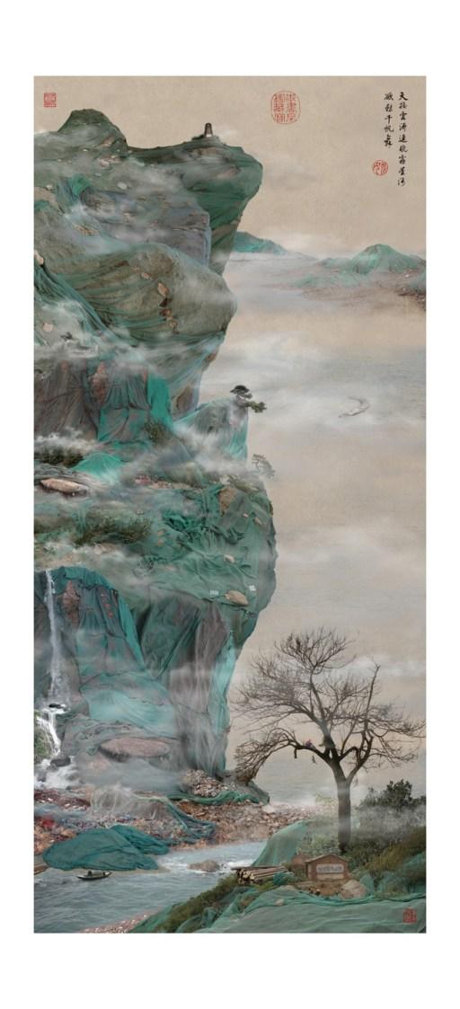 13 Lu, Yao Lu's New Landscape Part 4- YL02 Green Cliffhanger, 2009