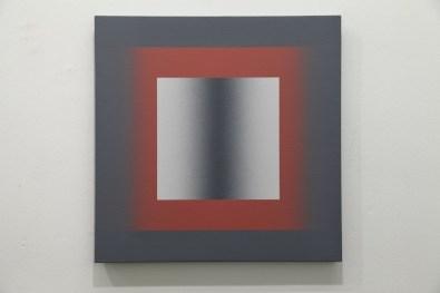 Giuliano Barbanti, SD_GC+CHR, 1976, 60x60 cm Courtesy Lorenzelli Arte, Milano