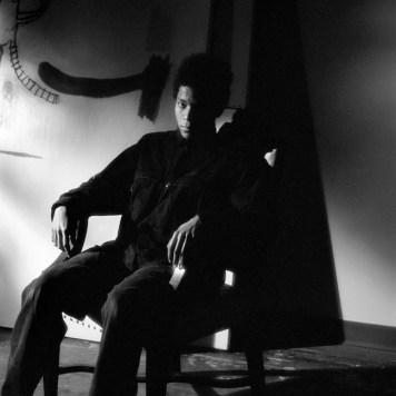Jeannette Montgomery Barron Jean-Michel Basquiat, studio, NYC 1985 © Jeannette Montgomery Barron