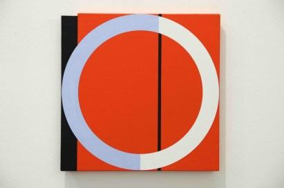 Giuliano Barbanti, Anello, 2003, 35x35 cm Courtesy Lorenzelli Arte, Milano