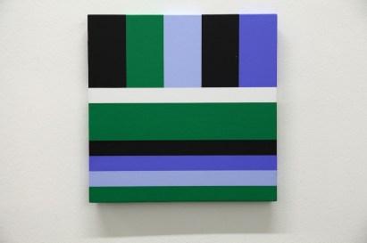 Giuliano Barbanti, Costruzione colore, 2005, 35x35 cm Courtesy Lorenzelli Arte, Milano