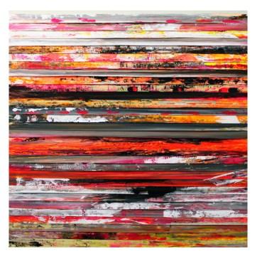 Paolo Bini, dalla serie Cromatismi emozionali, 2014, 125x125 cm