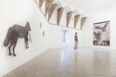 Kiki Smith, Path, 2014, Veduta generale della mostra | General exhibition view Courtesy the artist and GALLERIA CONTINUA, San Gimignano / Beijing / Les Moulins Photo by Ela Bialkowska, OKNO STUDIO
